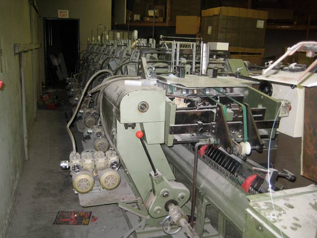 1989 Itoh 18-2 Saddle Stitcher