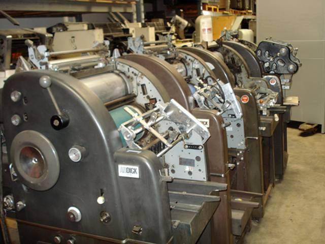 Ab dick offset press 324 supplies