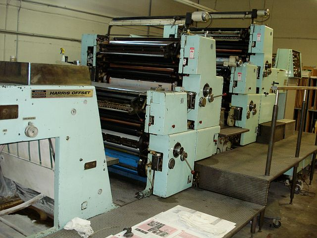 Harris 438 LWR-M - 4 Color - $10,000.00 : USA Printing ...