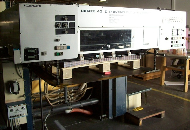 1986 Komori Lithrone 640