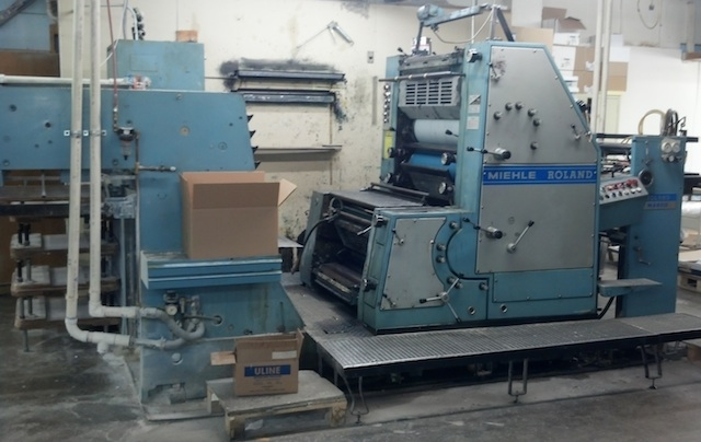 Miehle Roland presses - package